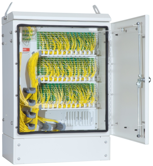 Ofs Introduces 432 Fiber Distribution Cabinet