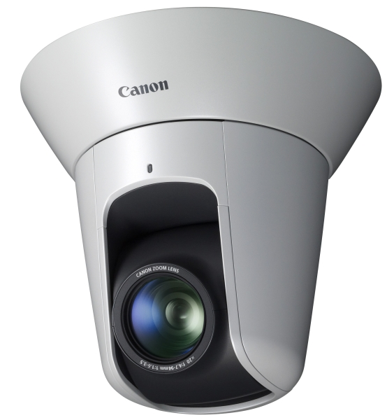 Four new Canon network cameras support Full HD video transmission