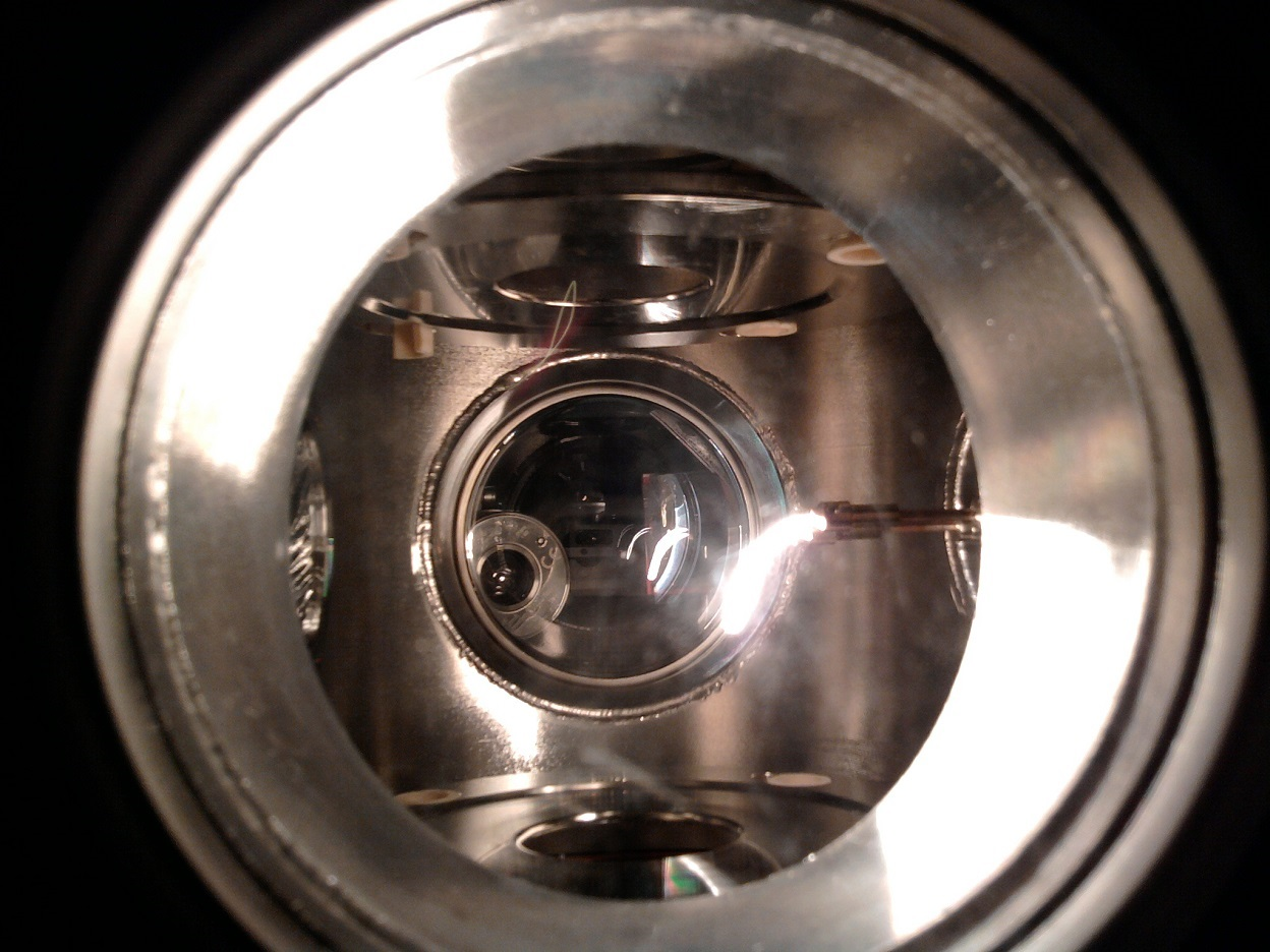 Inner part of the gas-filled optical cell for laser spectroscopy of nobelium isotopes