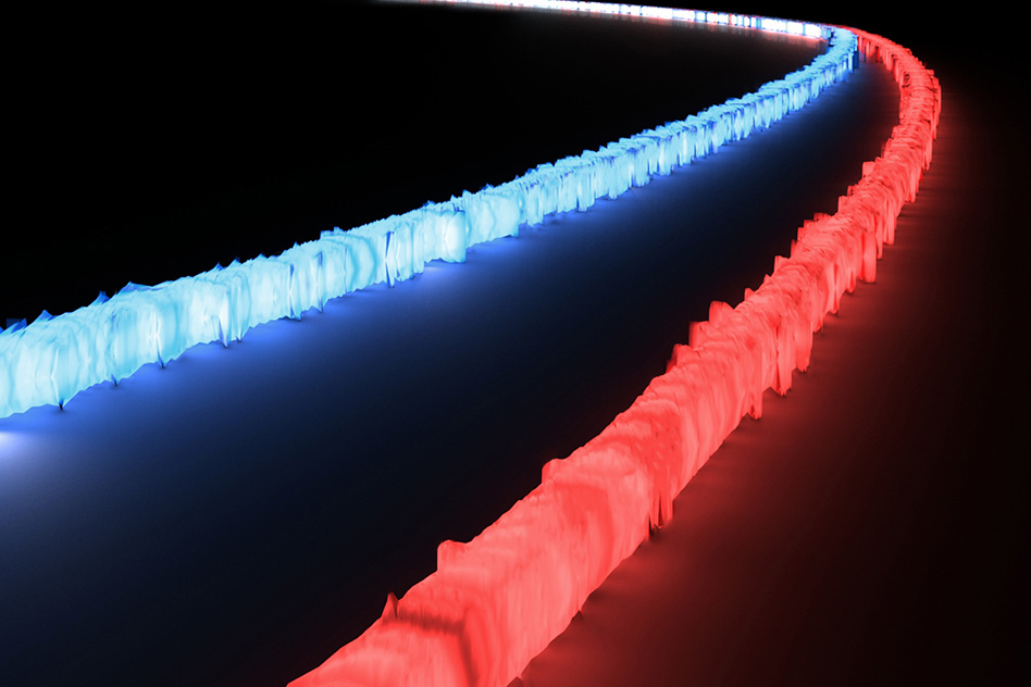 MIT researchers have designed an optical filter on a chip that can process optical signals from across an extremely wide spectrum of light at once, something never before available to integrated optics systems that process data using light