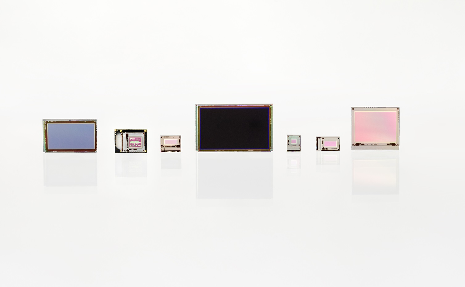 OLED microdisplays in various sizes and resolutions