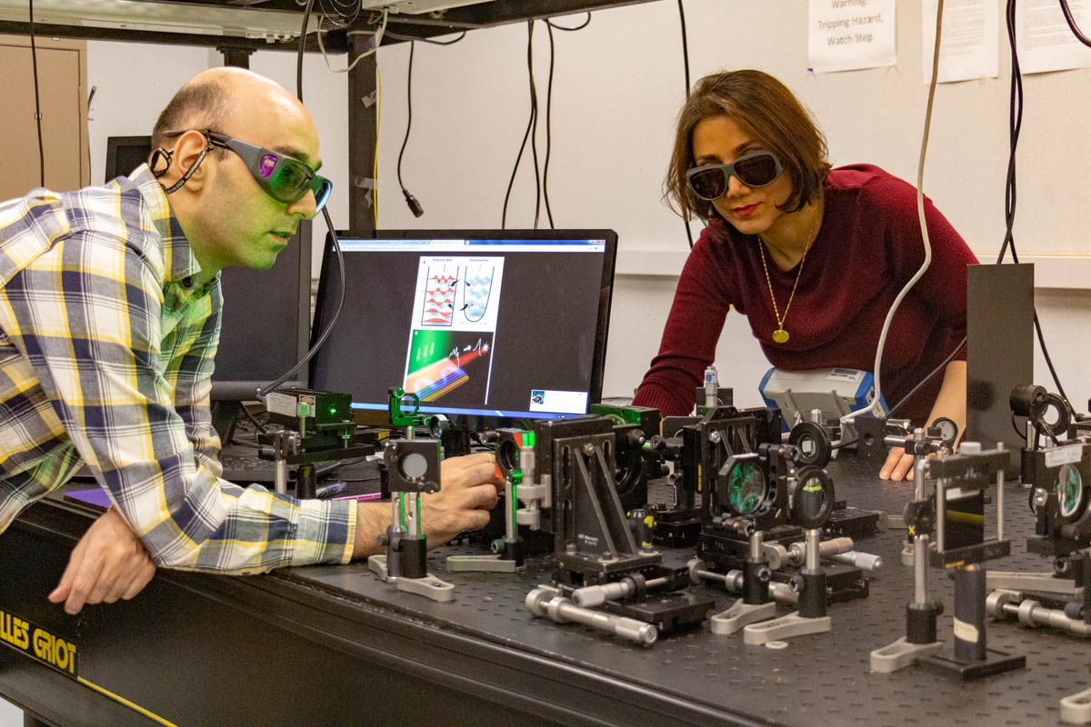 Associate Professor Mercedeh Khajavikhan and her team have developed the first supersymmetric laser array.