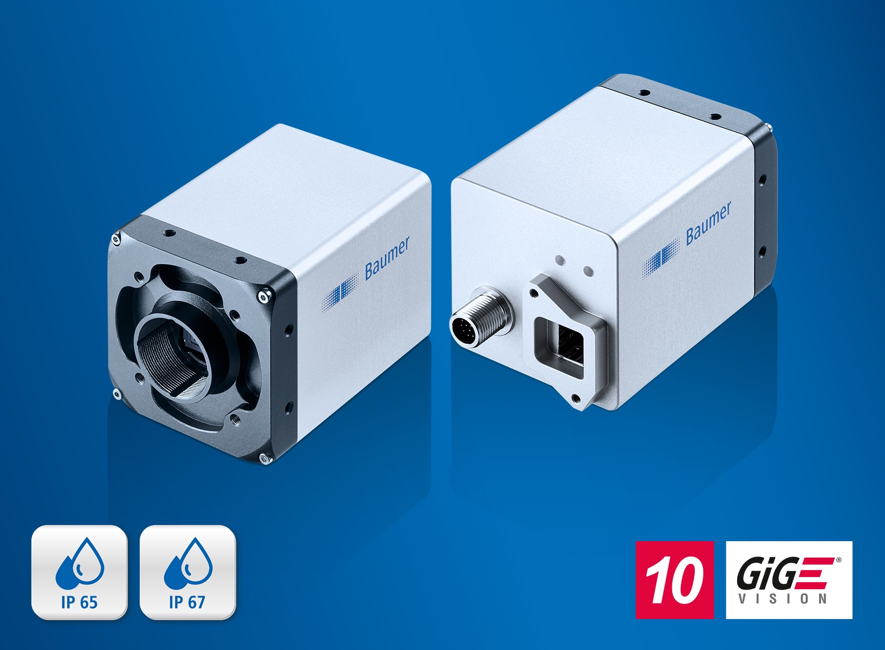 The new LX cameras with a 10 GigE Vision compliant fiber optics interface