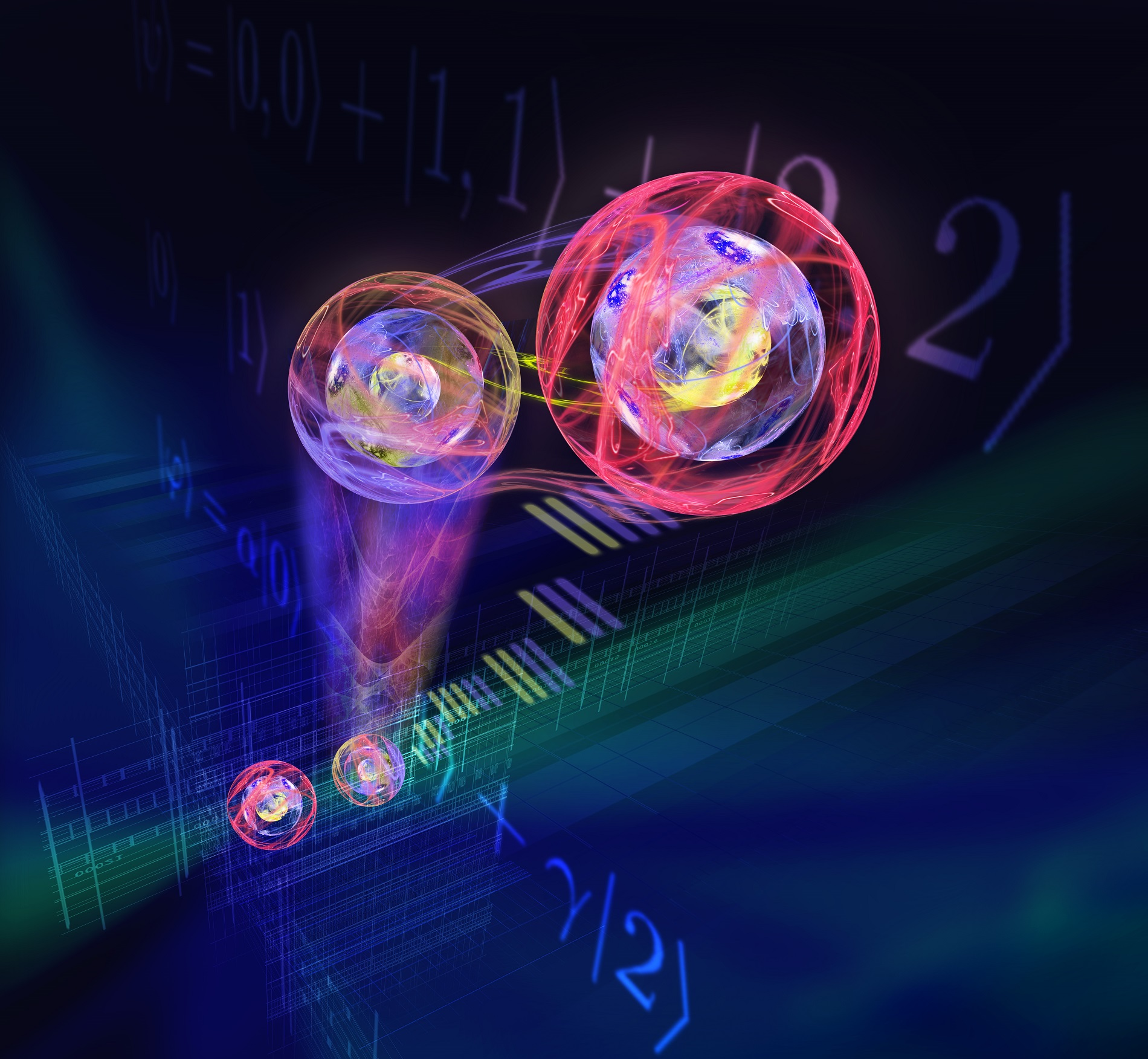 Austrian and Chinese scientists have for the first time succeeded in transferring three-dimensional quantum states
