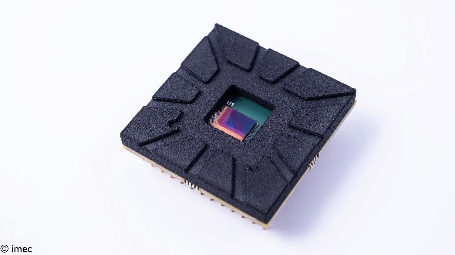 Imec's thin-film SWIR image sensors can be integrated in camera modules with standard or SWIR lenses