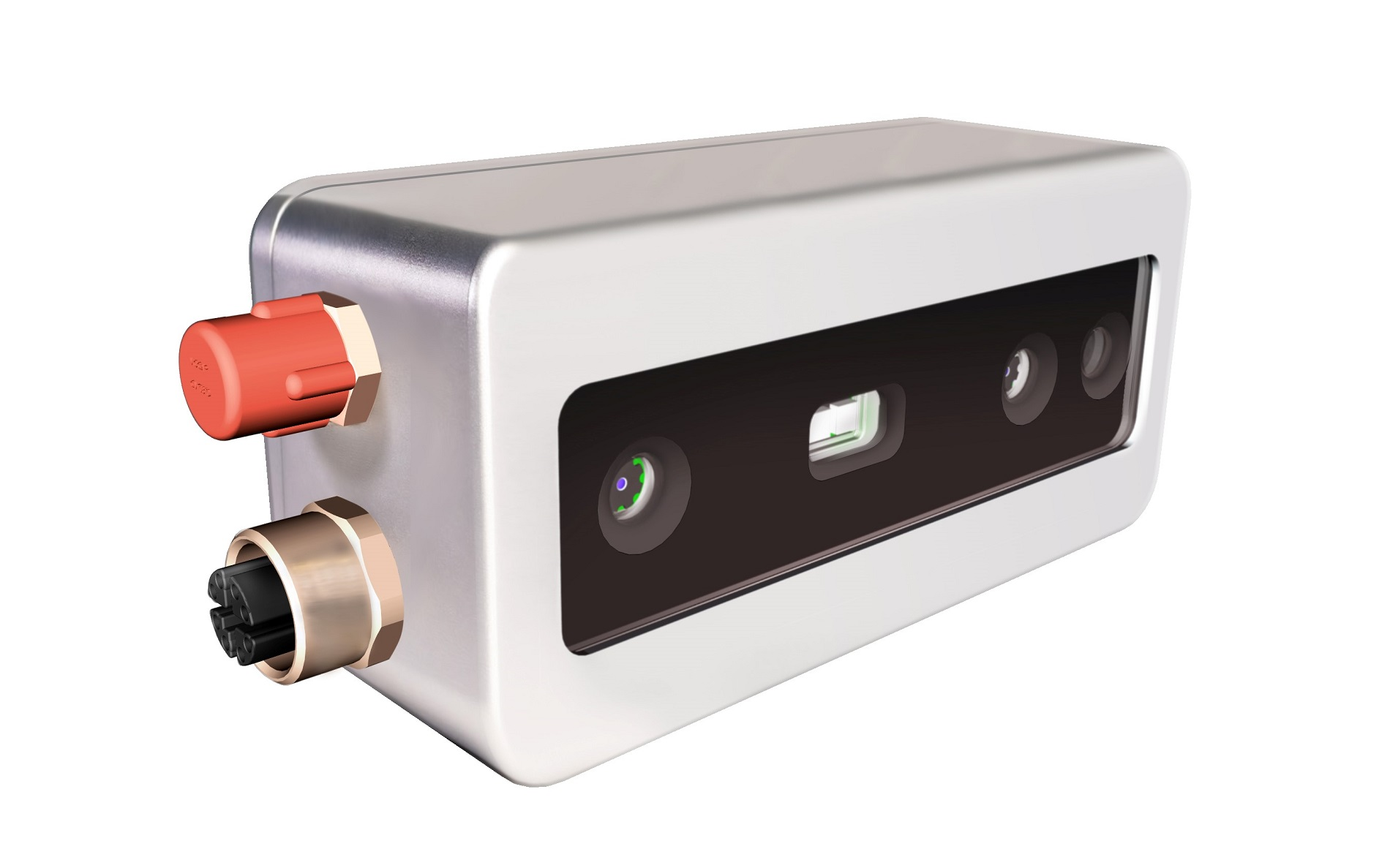 The new D415e industrial 3D GigE Vision camera by FRAMOS
