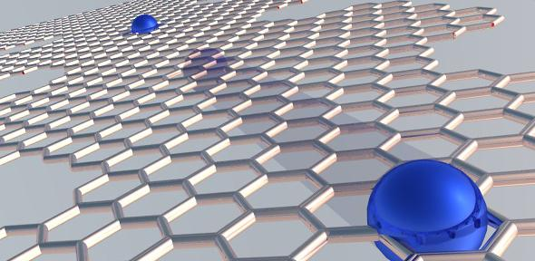 Electron pumps made from graphene