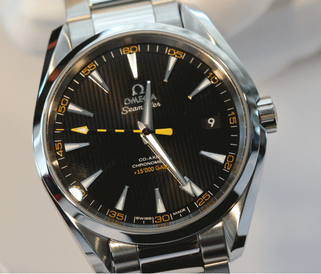 The Seamaster Aqua Terra Over 15 000 Gauss 1