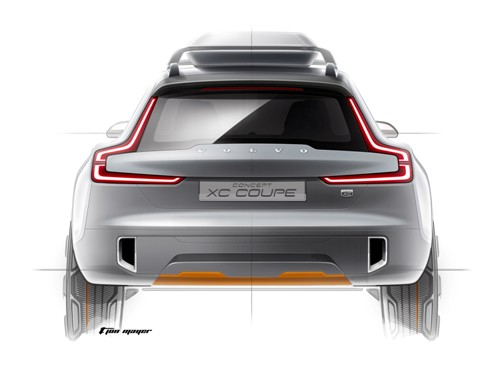 The Volvo Concept XC Coupe