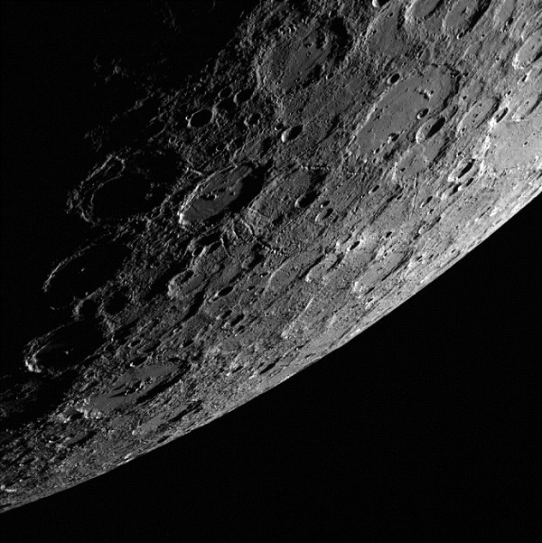 Mercury as seen by NASA