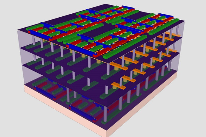 our-layer prototype high-rise chip