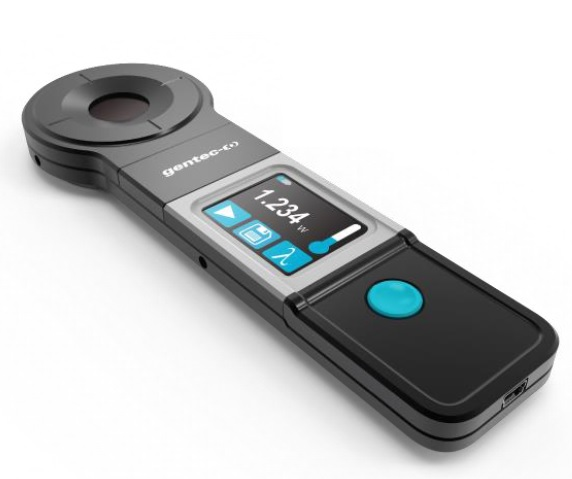 Handheld Laser Power Meters : New handheld laser power meter for quick measurements up