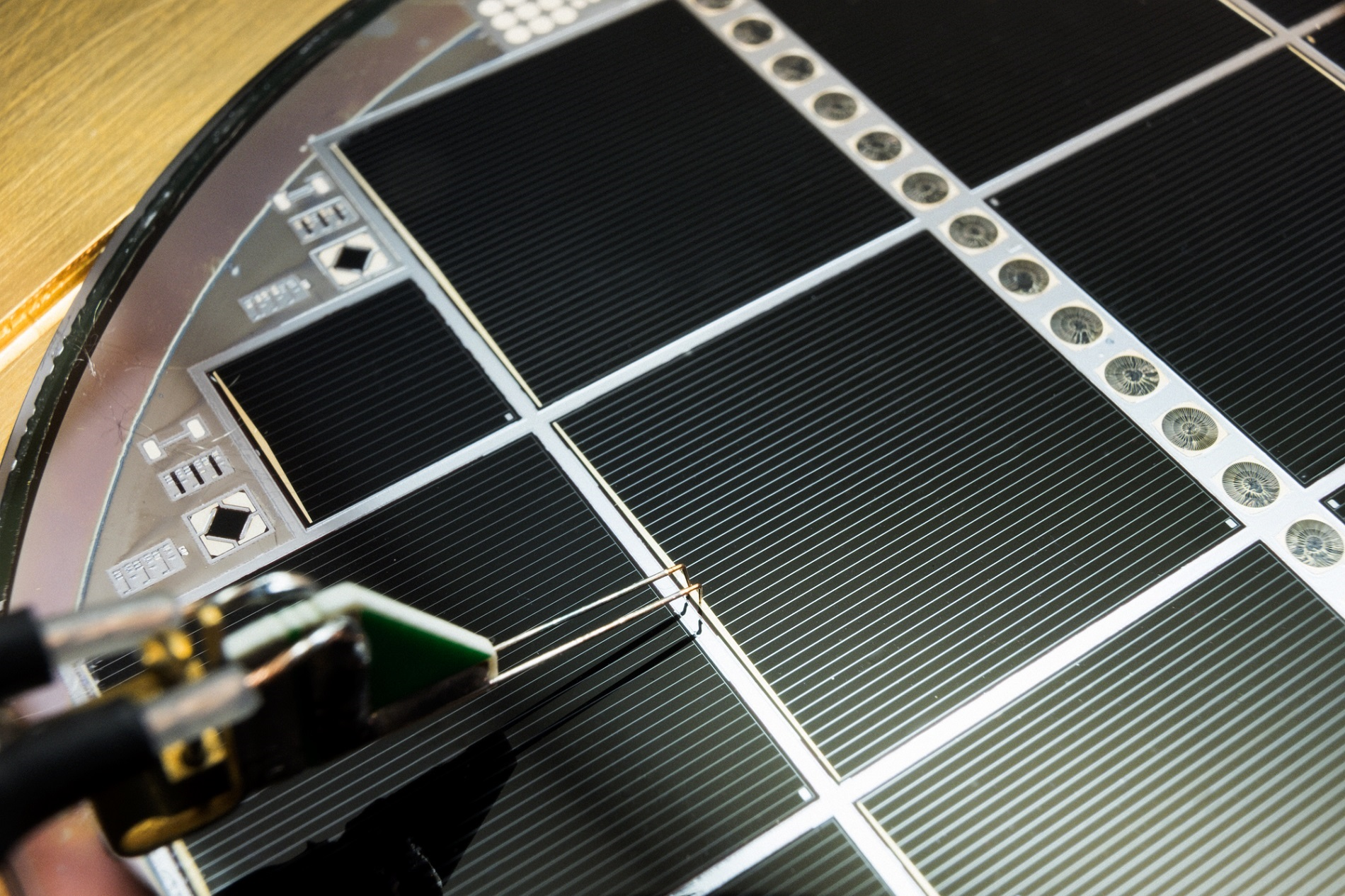 New Record for Silicon-based Multi-junction Solar Cell