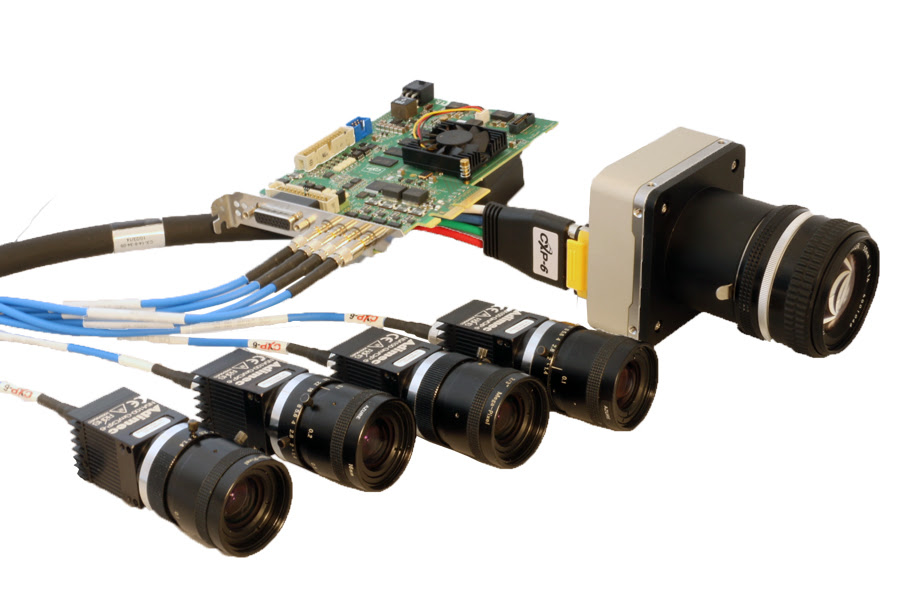 Adimec demonstrates new high speed vision CoaXPress cameras