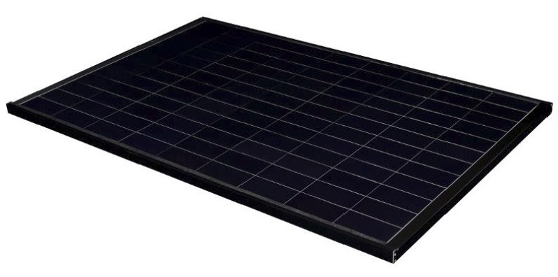 The crystalline silicon solar cell module that achieved the world's highest conversion efficiency