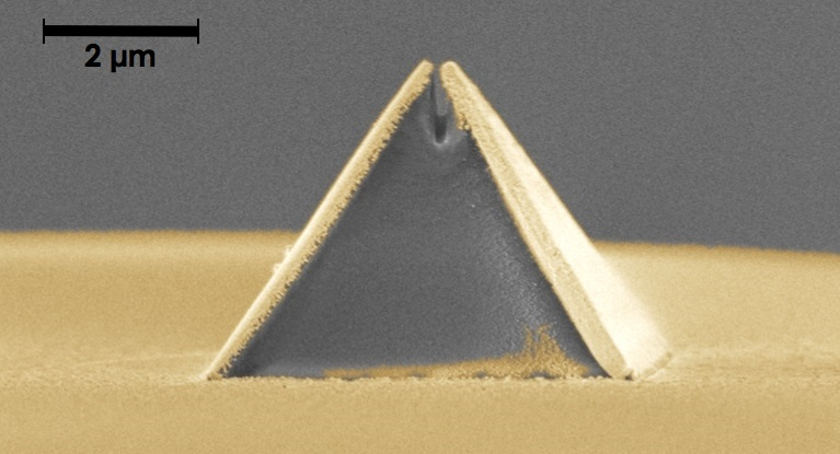 Scientists Print Nanoscale Imaging Probe onto Tip of Optical Fiber