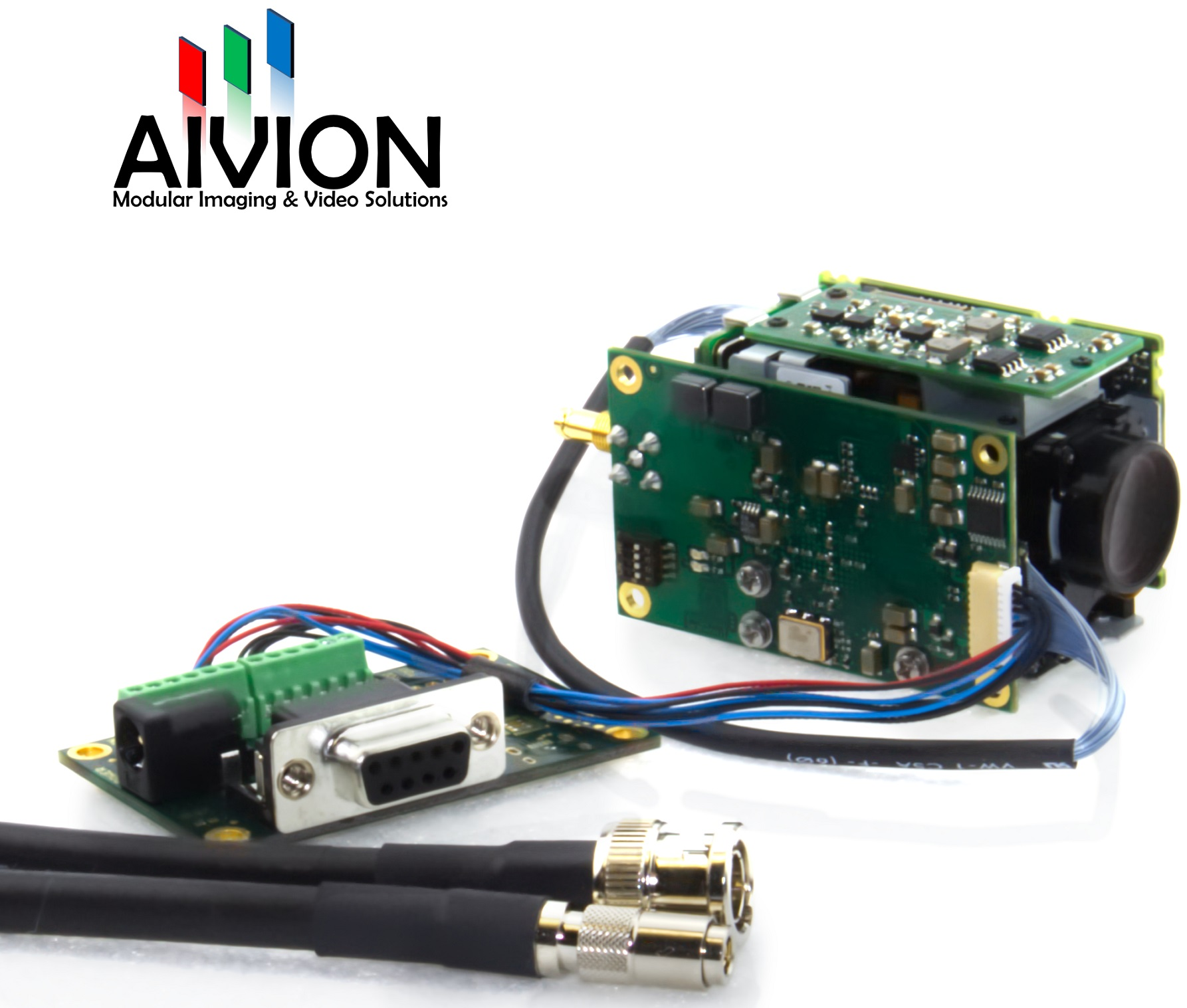 Aivion Announces Next Generation 3g Hd Sdi Interface Board With Up Modular Wiring Solutions To 1080p60 Resolution And Optimized Form Factor For The Tamron Block Camera Mp1010m Vc