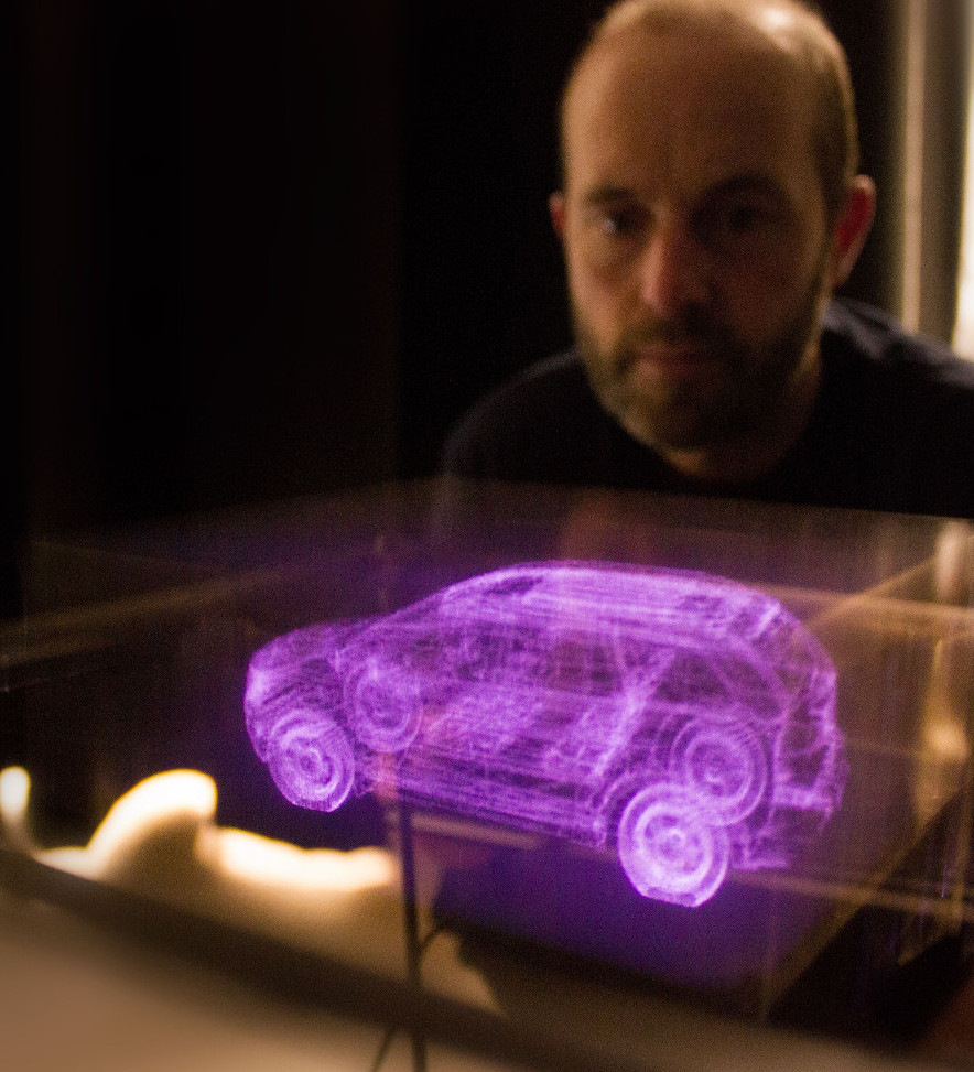The Voxon VX1, 3D Volumetric Display now commercially available