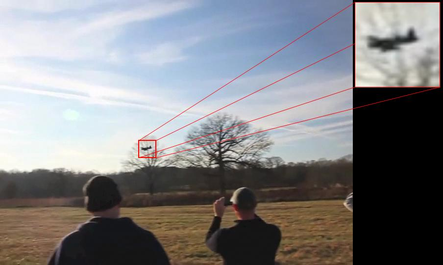EPFL researchers have shown that a simple camera can detect and track flying drones