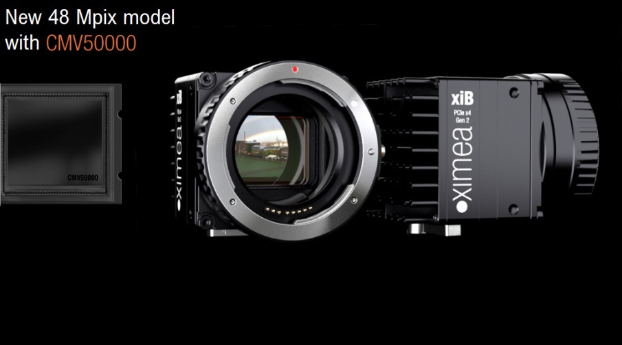 Newest model available with an exceptionally high resolution of almost 50 Mpix.