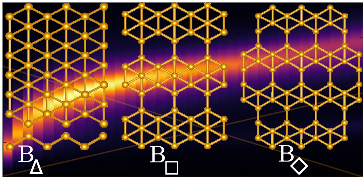 Rice University scientists calculate that the atom-thick film of boron known as borophene could be the first pure two-dimensional material naturally able to emit visible and near-infrared light by activating its plasmons