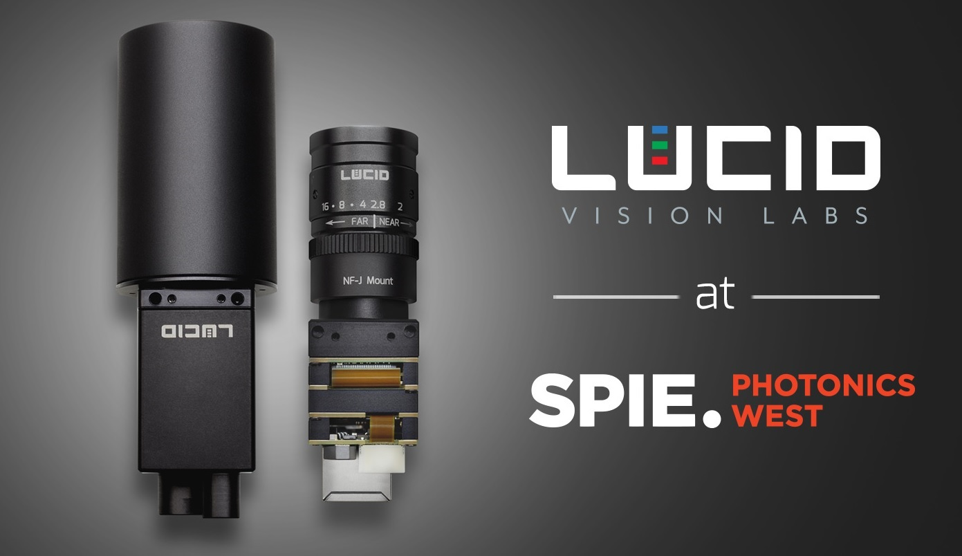See Lucid Vision at SPIE Photonics West 2018