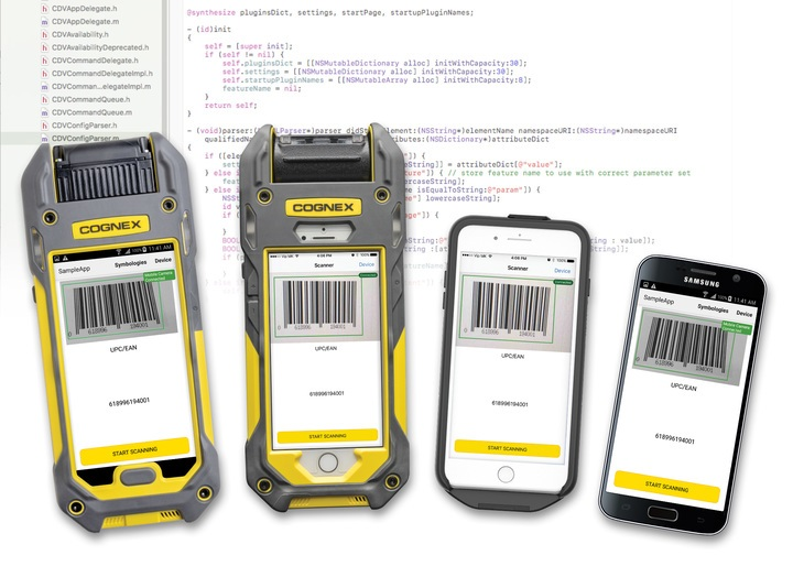 The MX-100 Series mobile barcode reader