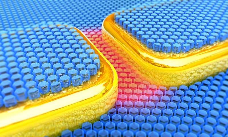 terahertz plasmonic nanocavity covered with nanocrystals