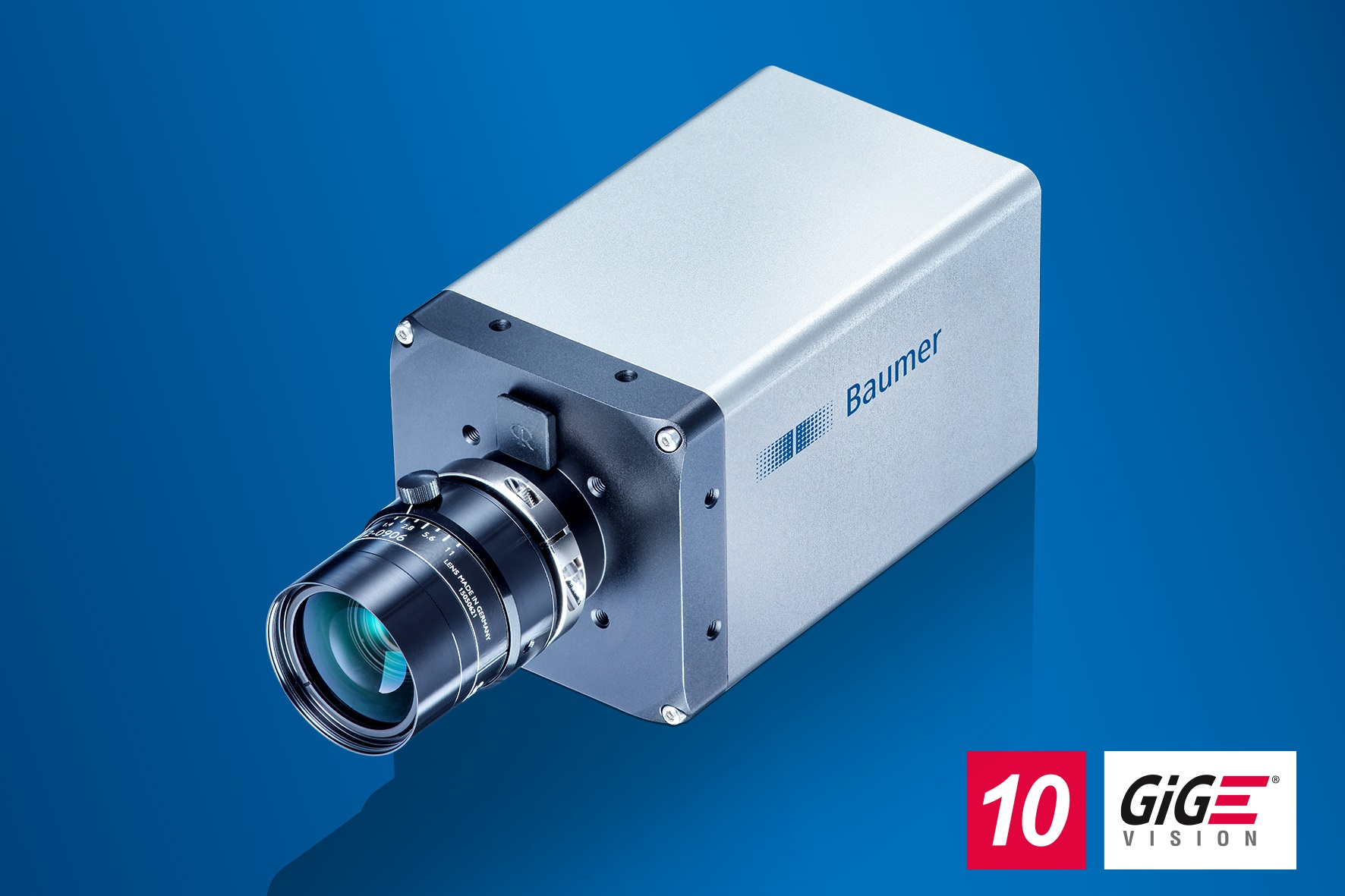 Baumer presents eight new models of the LX series which thanks to latest Sony Pregius sensors and 10 GigE interface offer supreme image quality at high speed together with easy system integration.