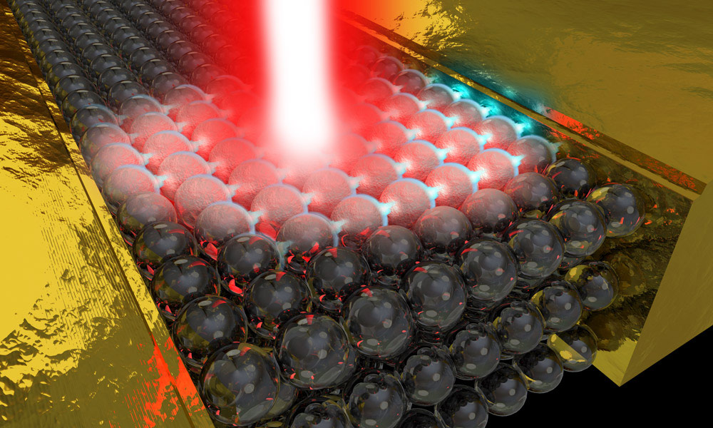Laser bursts generate electricity faster than any other method